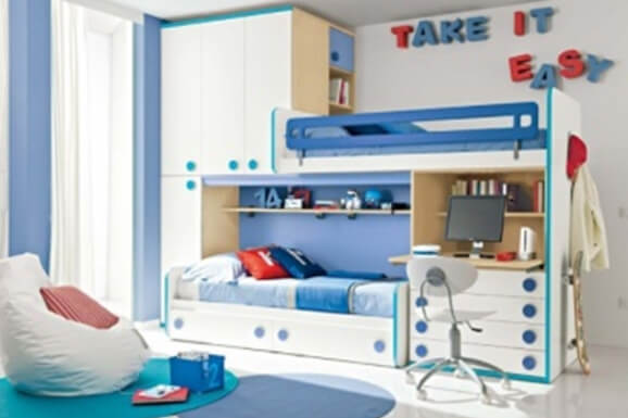 Dorm Bedroom Interiors in Electronic City Bangalore