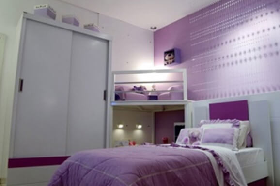 Girl bedroom Interior Design In Electronic City
