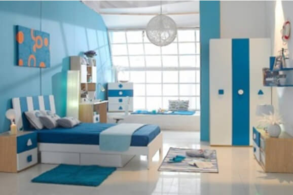 Cute Girl bedroom Interior Design in E-City