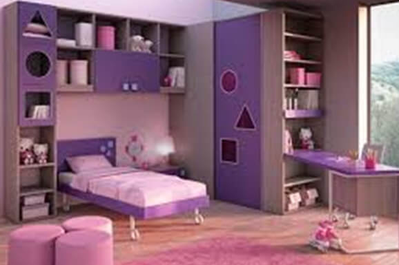 Girl bedroom Interior Electronic City