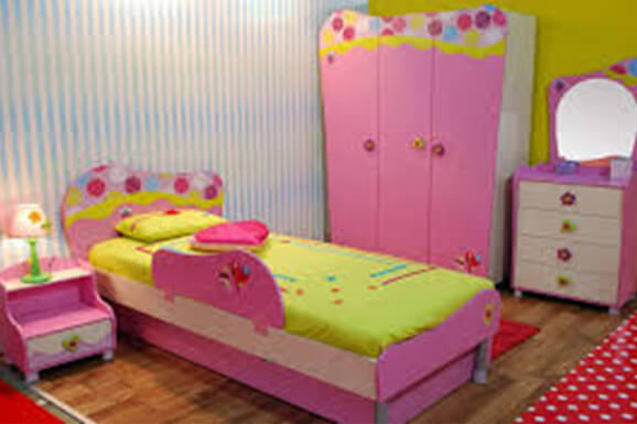 Interior Design for Girl bedroom in Electronic City