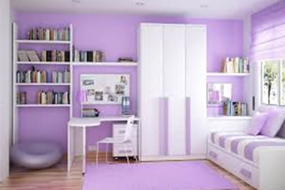 Morden Girl bedroom Interior In E-City