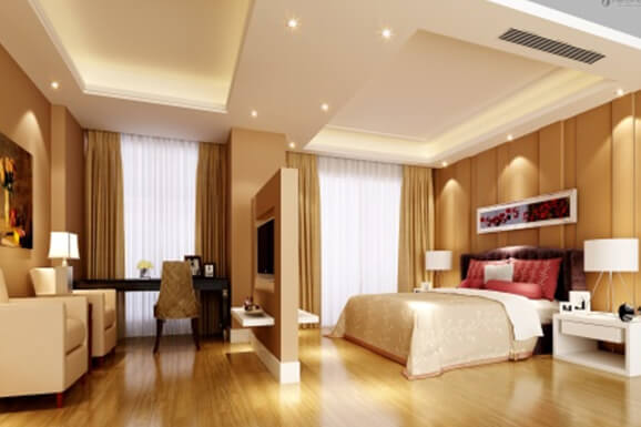 master Bedroom Interior Design in E-city Banglore