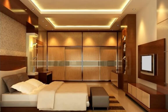 modern bedroom interior Design near me
