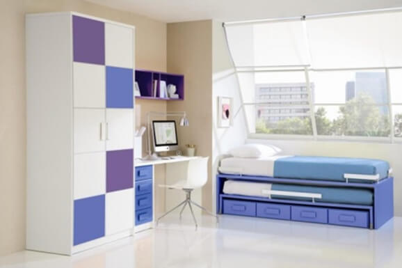 Budget single bedroom Interiors In e-city Bangalore