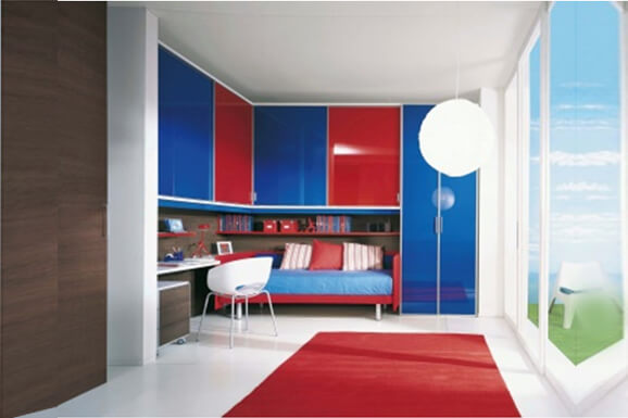 Modern single bedroom Interior Design Bangalore