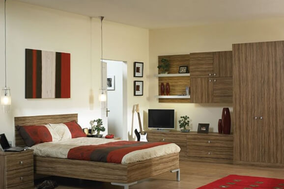 Budget Traditioinal Bedroom Interiors In e-city Bangalore